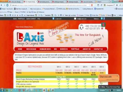 L-Axis.com | Bangladesh web design company | Best SEO service | Domain & Secured Hosting Provider