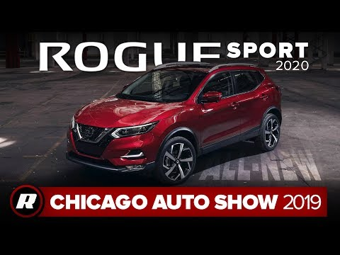 2020 Nissan Rogue Sport gets better looks, more safety tech   Chicago 2019