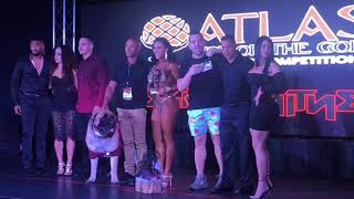 ATLAS fitness competition