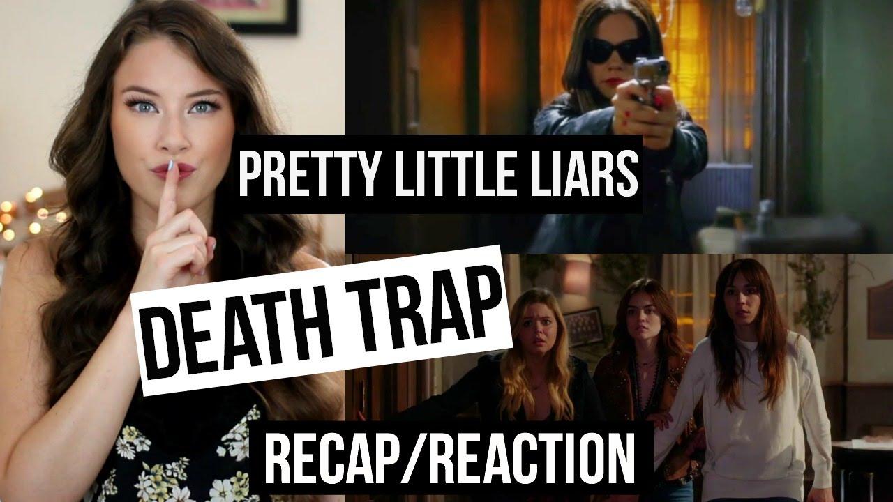 pretty little liars season 7 summer finale death trap recap