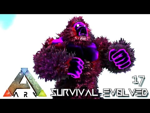 ARK: SURVIVAL EVOLVED - ANCIENT GORILLA MEGAPITHECUS TAME !!! E17 (MOD ARK ETERNAL CRYSTAL ISLES)