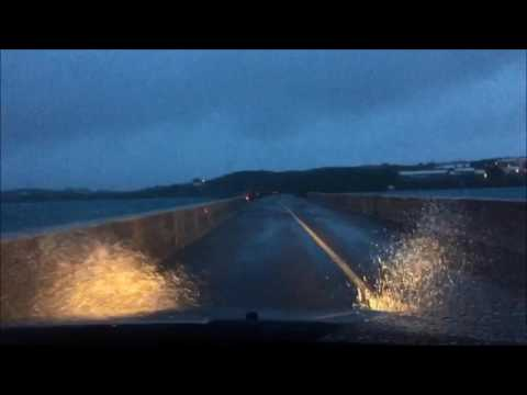 Time Lapse - Crossing the Causeway After TS Karl, 7am Sept 24 2016
