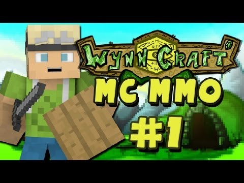 Minecraft MMORPG – Wynncraft – So It Begins.. – Part 1