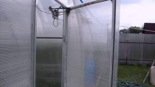Автоматичекская форточка для теплицы(Автоматическое открывание дверей и форточек в теплицах с помощью актуаторов для спутниковых антенн, управ..., 2014-08-18T08:31:31.000Z)