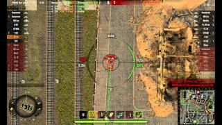 СУ-26.Нагибает в рандоме.(Советские САУ.SU-26 World of tanks )