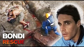 Man Survive Fall from a Cliff | Best of Bondi Rescue