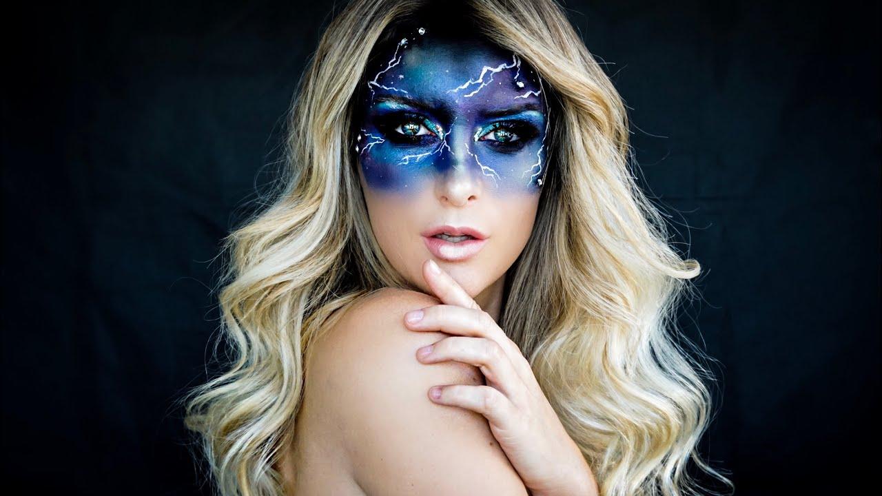 Galaxy Make-up Tutorial - Nadine Mayerhofer