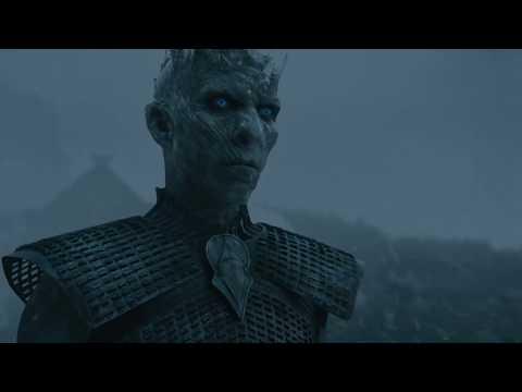 Король ночи против Джона Сноу. Игра престолов 5 сезон 8 серия
