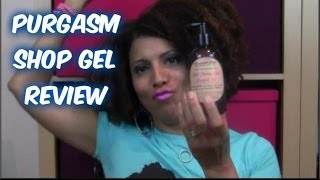 REVIEW: Purgasm Shop Curl Poppin' Gel - CurlyKimmyStar Thumbnail