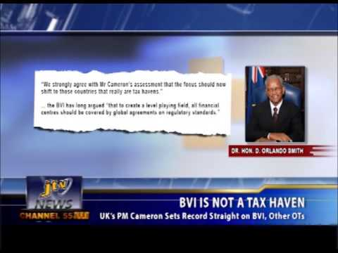 BVI IS NOT A TAX HAVEN