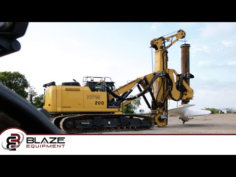 HPM 200 Drill Rig | Foundation Drilling Rig | Blaze Equipment
