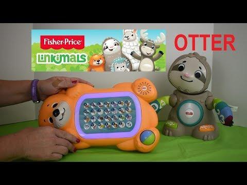Fisher Price Linkimal A To Z Otter DEMONSTRATION