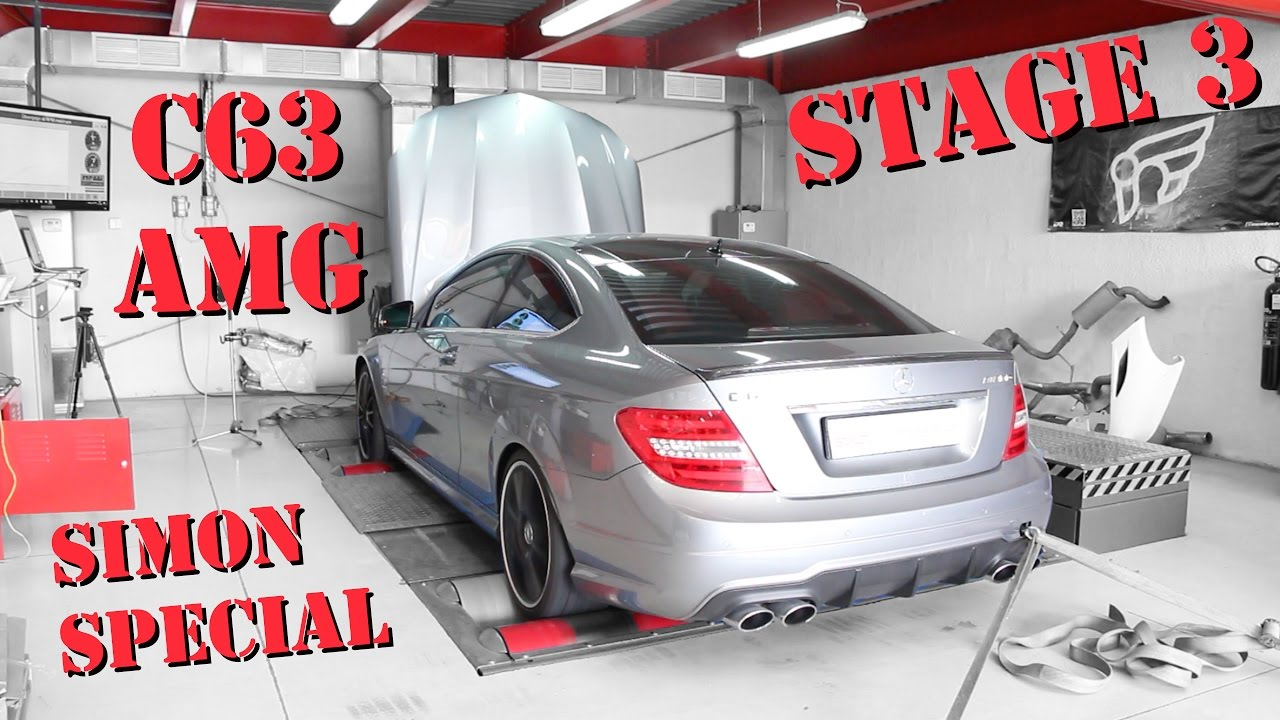 C63 AMG Coupe - Stage 3 \