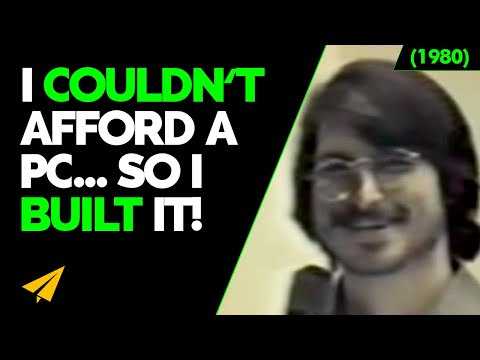 Young Steve Jobs | I Sold My VAN to Get STARTED! | 1980 Presentation | #EarlyStarts