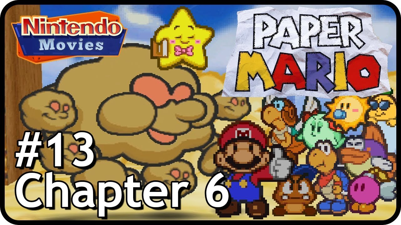 Paper Mario Episode 13 Chapter 6 Dark Days In Flower Fields