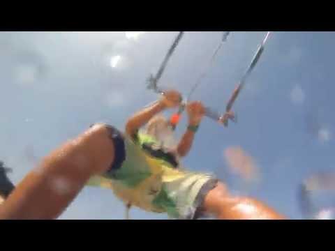 Kite surfing in Kenya, Diani/Galu Beach at H2o Extreme