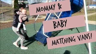 Mommy & Baby Matching Vans | VLOG