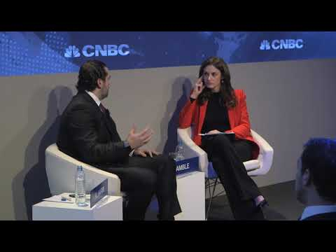 A Conversation with Saad Hariri President of the Council of Ministers of Lebanon