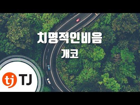 Snapper Ending 치명적인비음_Gaeko 개코_TJ노래방 (Karaoke/lyrics/romanization/KOREAN)