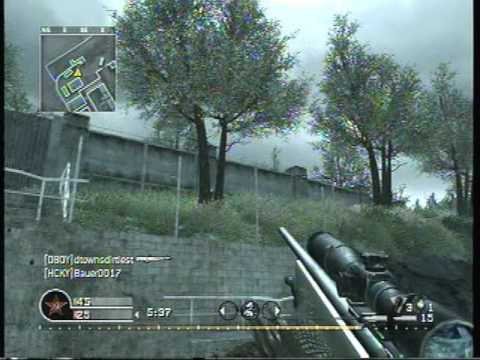 Call of Duty: 4 & WaW No Scope SNiPER MONTAGE