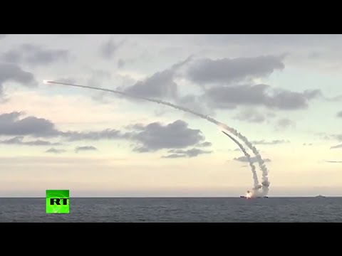Russian Caspian Sea fleet launches cruise missiles against I