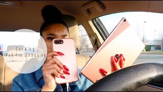 DAILY DES | FINALLY A CAR VLOG + CHICK-FIL-A PLAYED ME SIS (iPad Pro Unboxing)