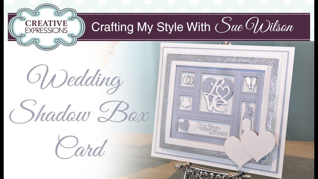 Handmade Wedding Card Tutorial Crafting My Style With