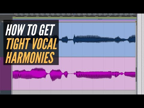 Get Tight Vocal Harmonies In Any DAW – RecordingRevolution.com