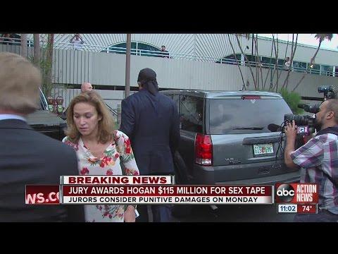 Jury awards Hulk Hogan $115 million in Gawker sex tape suit