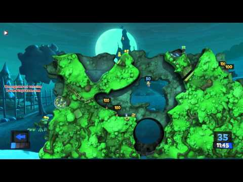 Let's Play Worms Revolution Part 9 with Dillbob, Zapf, and Leefighter |