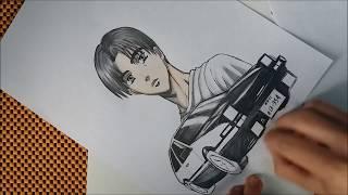 Takumi Fujiwara -speed drawing [Initial D 頭文字D]