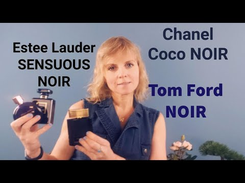 лучший нуар Tom Ford Noir Coco Noir или Sensuous Noir Estee Lauder