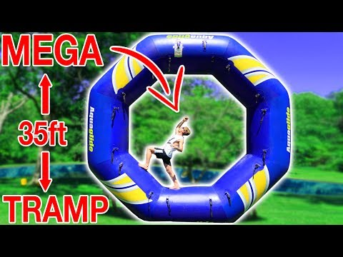 Thumbnail: BIGGEST TRAMPOLINE BACKFLIP!!