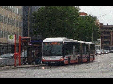 [HD] Reportage Hamburg Metrobus M5 Burgwedel - Hauptbahnhof/ZOB timelapse vor Busbeschleunigung