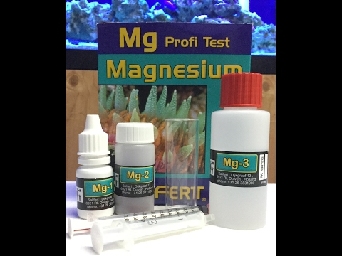 Magnesium Test Kit For Saltwater Aquarium