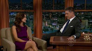 Late Late Show with Craig Ferguson 9/11/2012 Adam Goldberg, Alison Becker