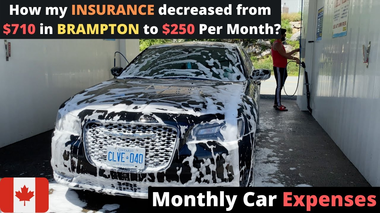 MONTHLY EXPENSES OF MY LUXURY CAR IN CANADA | Insurance, Instalments | Car Wash Vlog
