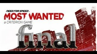 Need For Speed Most Wanted Gameplay Español HD Parte 8 final del juego  TheJairovY