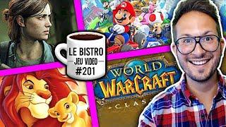 Last of Us Part 2 montre du gameplay ! Aladdin et le Roi Lion remasterisés ! Mario Kart Tour...