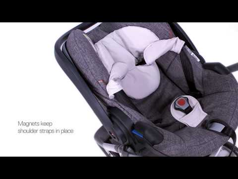 Детское автокресло IZi Go (0-13 кг), совместимое с колясками Stokke