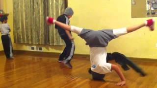 Longest Consecutive Headspin World Record 11YR OLD B-girl Spinderella