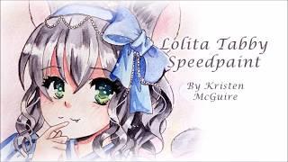 Lolita Tabby Cat Speed Paint