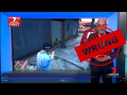Channel 7 Lies On National TV To Push Anti-Video Game Agenda #OZGTA