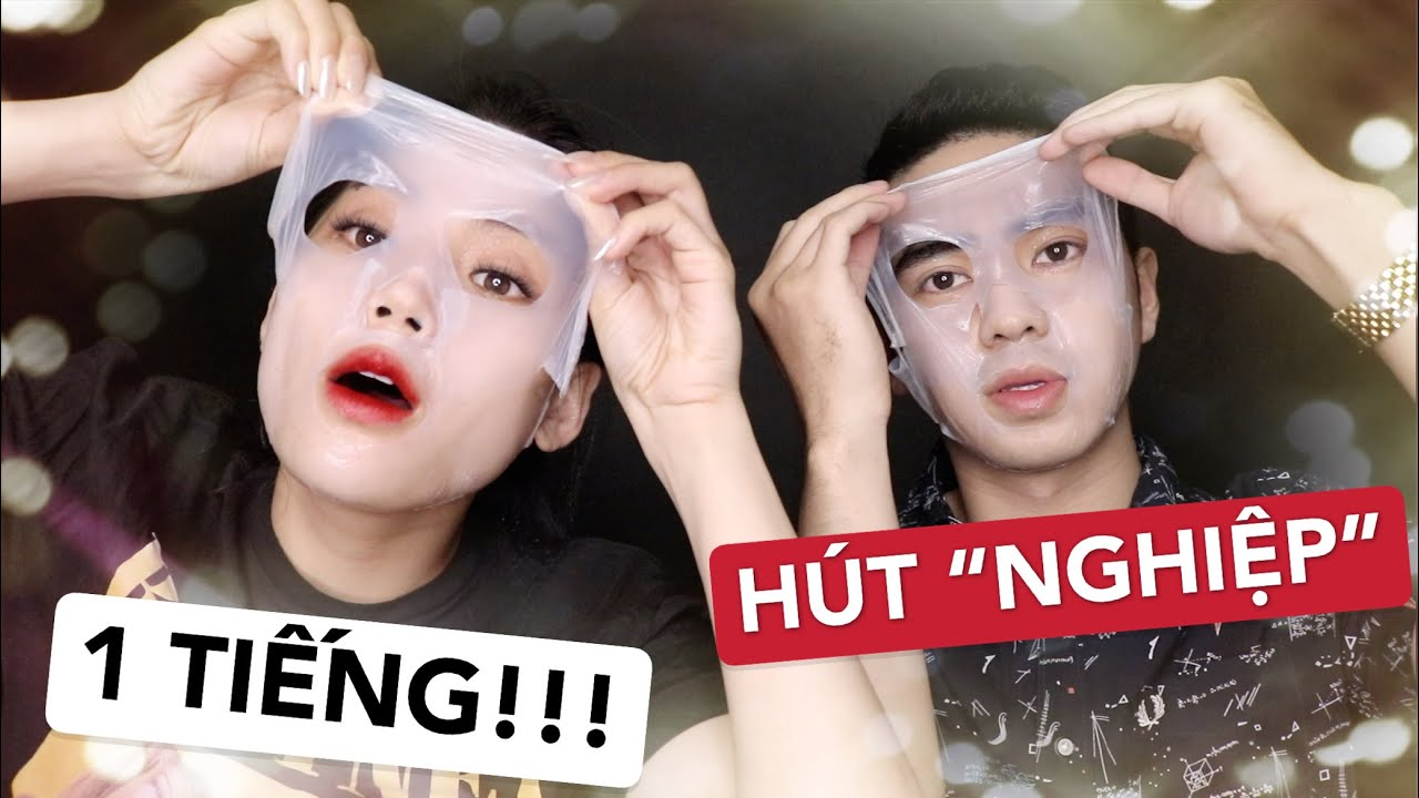 "[GIVEAWAY] MẶT NẠ LẠ GHÊ! HÚT SẠCH ""NGHIỆP"" | REVIEW DAZZLESLIM 1 HOUR MASKSHEET | Ha Linh Official"