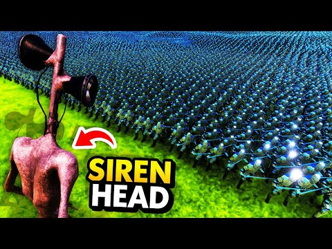 SIREN HEAD vs 1,000,000 SOLDIERS (Ultimate Epic Battle Simulator / UEBS Funny Gameplay)