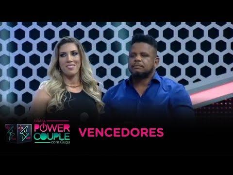 Tati Minerato e Marcelo ganham o Power Couple com 60,89% dos votos