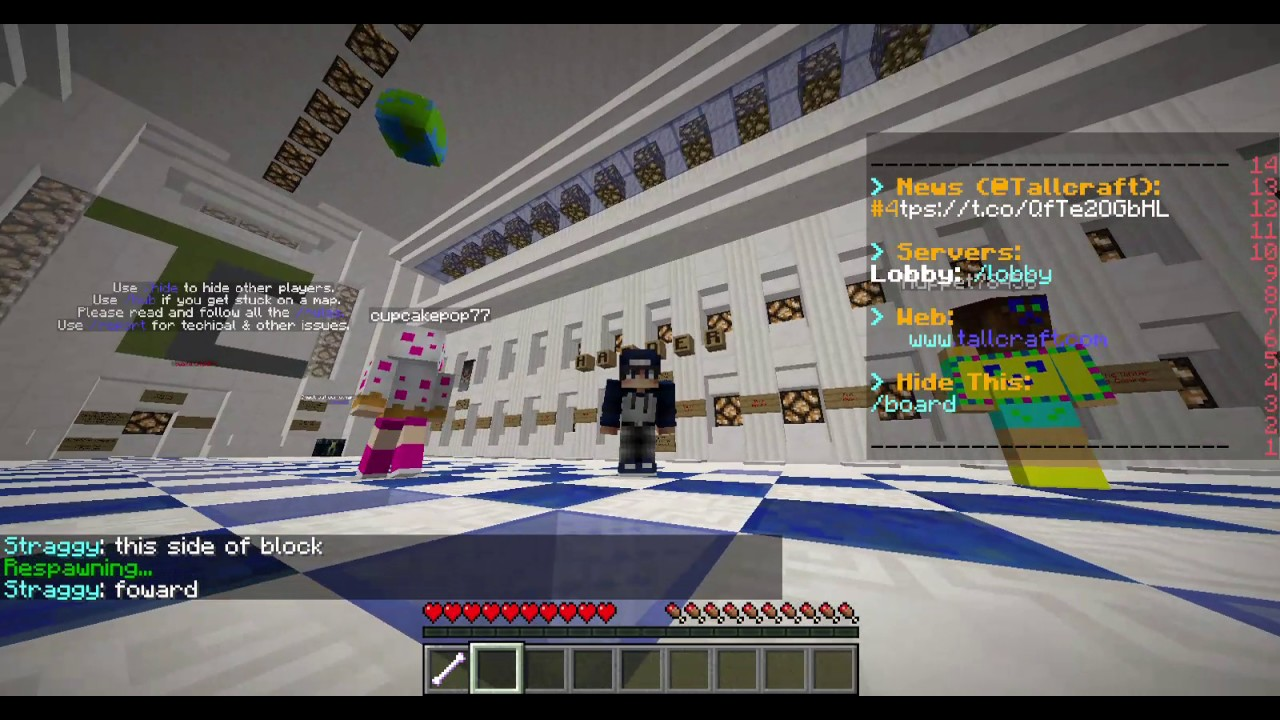Minecraft The Dropper Server w/ Death by Cat and Fighter YouTube