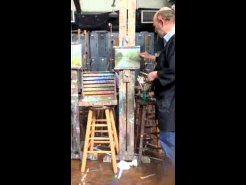 Landscape Painting Demonstration by Tom Torak