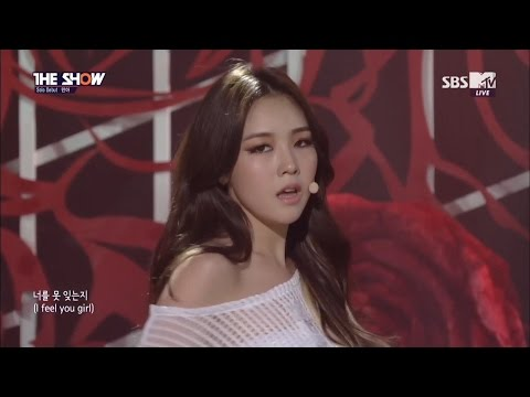 【HD繁體中字】 150318  Minah (Girl's Day) - I am a woman too  @ MTV The Show