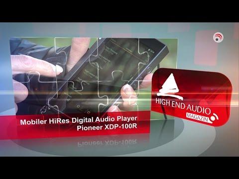 HIGH END AUDIO MAGAZIN: mobiler HiRes Digital Audio Player Pioneer XDP-100R, Lautsprecher aufstellen